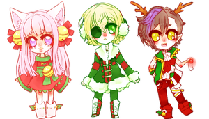 Happy Holidays UTAU by kyugami