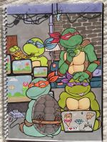 TMNT2 by oPyknic