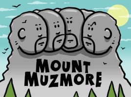 Mount Muzmore by muzski