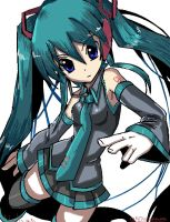 hastune miku by captainNoodle
