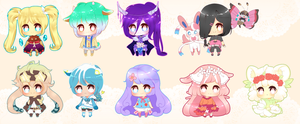 Mini Cheeb Batch 4 by myaoh