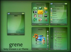 Grene For Sony Ericsson by ana10gx