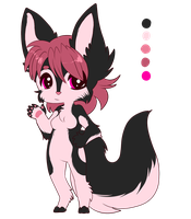 Adoptable 1 - Black Strawberry -closed by V0idsEdits