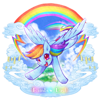 Rainbow Dash by tatugon