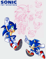 Sonic Doodles 'n Sketches by JamesmanTheRegenold