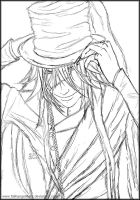 Undertaker for MariMariPink Sketch by fallnangeltears