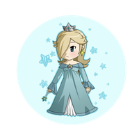Lil' Rosalina remake by Icy-Snowflakes