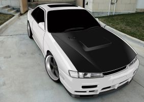 Nissan Silvia S14-A by IGlooZG