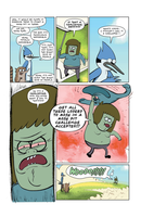 [Page 6] Regular Show: Concert by nikitabirds