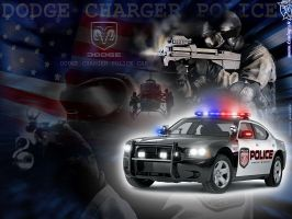 Dodge Charger Police Car by TuningmagNet