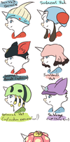 Hats! EXAMPLES by decapiteight