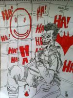 JOKER IN THE MADHOUSE by GP-MANALO