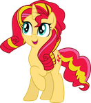 Rainbow Rocks Sunset Shimmer by TheShadowStone