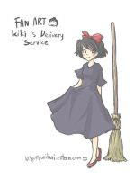 Kiki's delivery service by buriburi