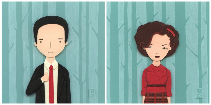 Nerd Love: Twin Peaks by renton1313