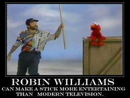 Robin Williams stick m.p. by TriforceBoy