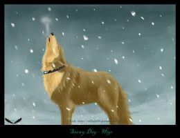 Snowy Day - Hige by Elflady88