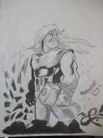 Thor wip by kanderson137