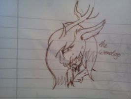 .:[SKETCH]W IS FOR WENDIGO!:. by Maniactheleader