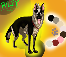Riley Ref by dRaWiNgWiThHeArT