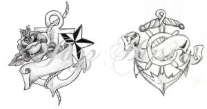Anchors by jazzhirst