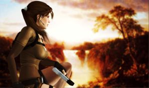 Lara_Croft_Africa by ivedada
