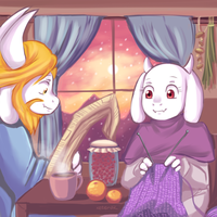 Undertale - calm moring by keterok