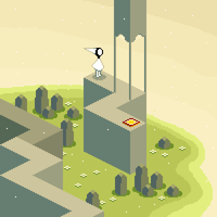 Monument Valley Iso by PXLFLX