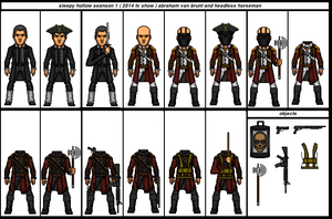 Sleepy Hollow Seanson 1 ( 2014 Tv Show ) Abraham V by the-collector-13