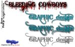 Bleeding Cowboys Font Mod by Josh-Closser