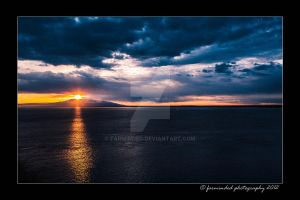 Sunset Across Sleeping Lady by farminded