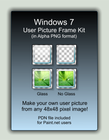 Win 7 User Picture Kit by IanITAInc