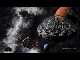 Space City 3 by TLBKlaus