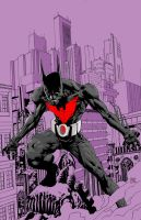 batman beyond WIFP by orphanshadow