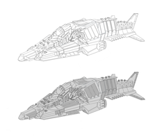 Concept Ship Art by 7THeaven