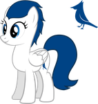 Blue Jay (With Cutie Mark) by Smashinator