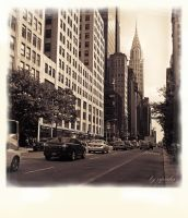 Chrysler Building by ziperka