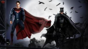 Batman v Superman - Wallpaper 03 by LoganChico