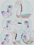 MLP - Discolight Comic by Lacedra