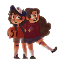 Pines Twins by Our-Celestial-Death