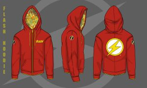 Custom Flash Hoodie by darknight7