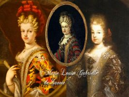 Queen Maria Luisa Gabriella of Spain by Nurycat