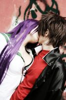 H.O.T.D. - Saeko X Takashi by The SC Cosplay by theSCcosplay