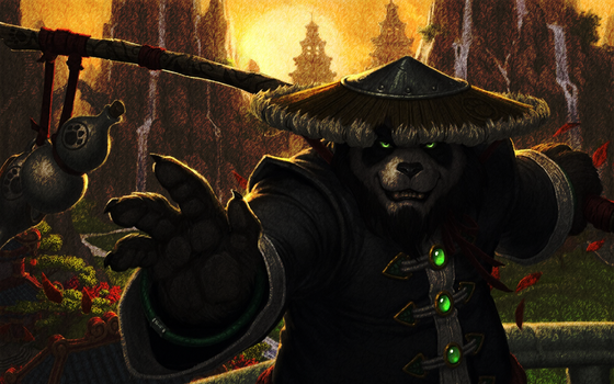 The mists of pandaria by Gl-steve