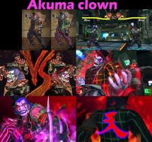 Akuma Clown(Bryan) by aaniishh12