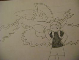 Brian and Charizard by Scarangel999