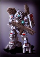 G.U.N mecha: Palidan redesign by zeiram0034