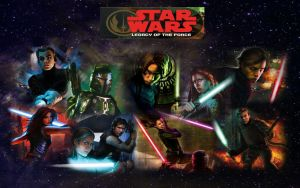 Star Wars Legacy of the Force by Redledbetter