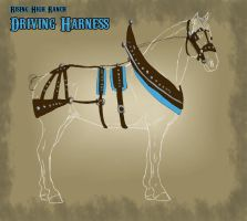 RHR Nordanner Driving Harness by Rising-High-Ranch