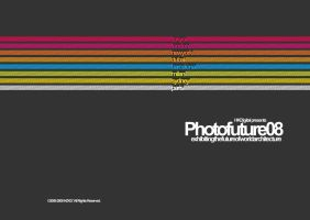 Photofuture08 Brochure Cover by HZKD